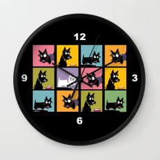 Different Scottie Wall Clock
