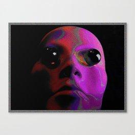 Stange Face Canvas Print