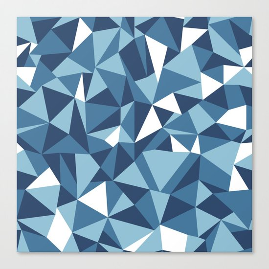 Ab Blues Canvas Print