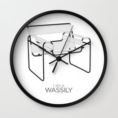 Chairs - A tribute to seats: I'm a Wassily (poster) Wall Clock