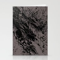 gravity Stationery Cards featuring Gravity by nicebleed