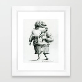 Punk Kid 1 Framed Art Print