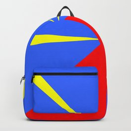 flag of reunion Backpack