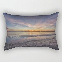 SUNRISE ON THE ADRIATIC SEA Rectangular Pillow