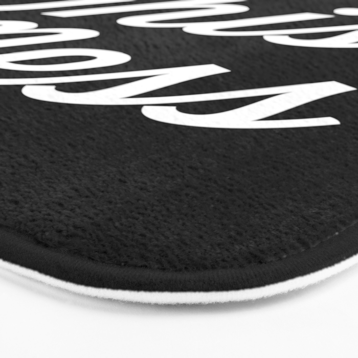 Bless This Mess Funny Quote Bath Mat