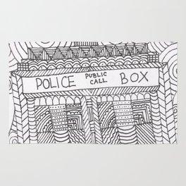 Doctor Police Box Rug
