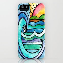 Beachy #society6 #spring #summer iPhone Case