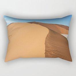 On the dunes of the Namib, Namibia Rectangular Pillow