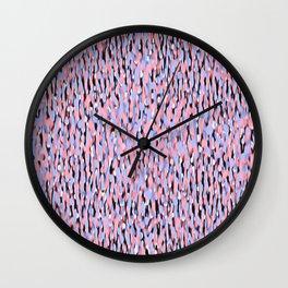 Globular Field 6 Wall Clock
