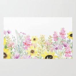 Summer Garden (Sunflower Passion) Rug