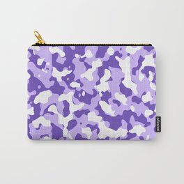 Camouflage Purple Carry-All Pouch