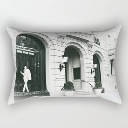 Shopping time Rectangular Pillow