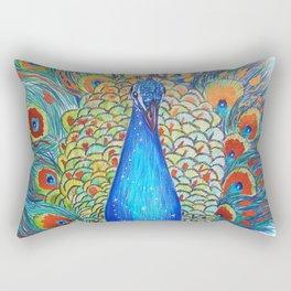 Peacock King Rectangular Pillow