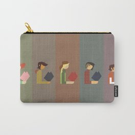 Lumber Ladies Read Carry-All Pouch