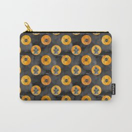 Halloween Pattern Watercolor Spider Carry-All Pouch