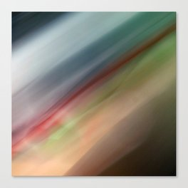 Motion Blur Series: Number One Canvas Print