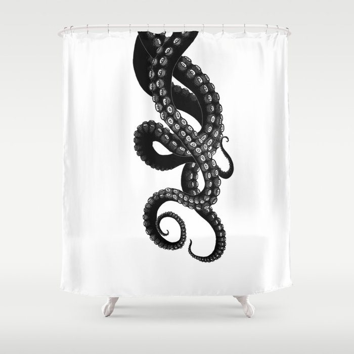 Get Kraken Shower Curtain