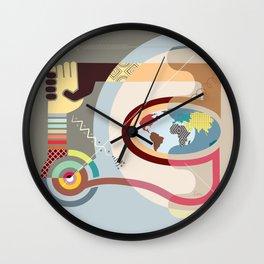Racial Harmony Wall Clock