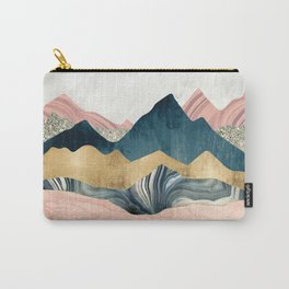 Plush Peaks Carry-All Pouch