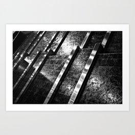 Indoor Water Feature Art Print