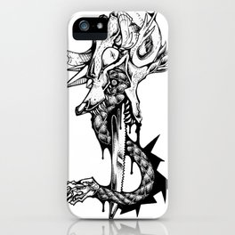 SERPENTOPHAGIA iPhone Case