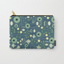 Freshly Cut - Blue Carry-All Pouch