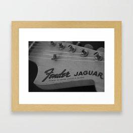 Classic Guitar 3 Framed Art Print