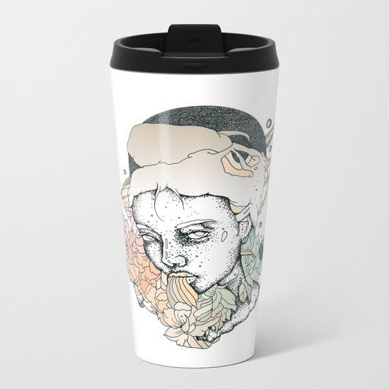 space between Metal Travel Mug