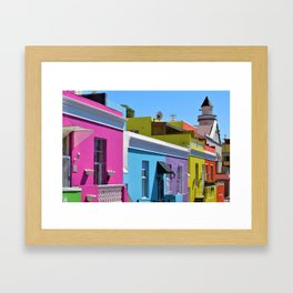 Bo-Kaap, South Africa #society6 #decor #buyart Framed Art Print