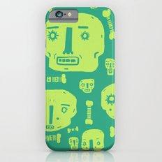 Skulls & Bones I - Green Slim Case iPhone 6s