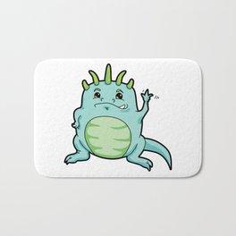 Little Happy Monster Wave Bath Mat