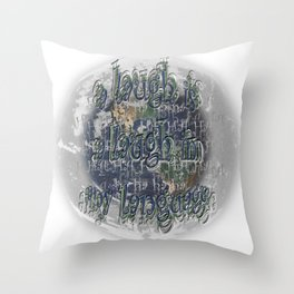 Hope for Humanity? Throw Pillow