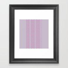 Oh, Ovals Framed Art Print