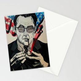 JFK - KEVIN COSTER MOVIE CHARACTE PRINT Stationery Cards