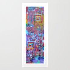 Cardboard Dojo Art Print