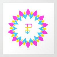 Pan and Proud Art Print