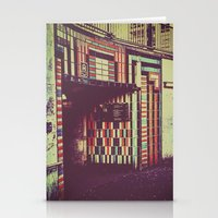 subway Stationery Cards featuring Subway by Efua Boakye
