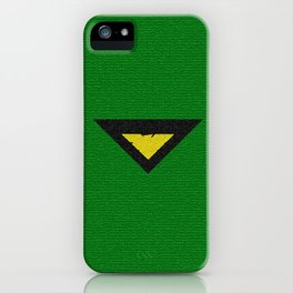 Green Phoenix Symbol iPhone Case