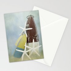 Buoys and Starfish Stationery Cards