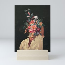 Roses Bloomed every time I Thought of You Mini Art Print