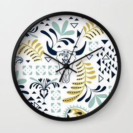 Bohemian Rhapsody White Wall Clock