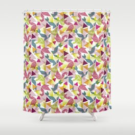 Tangram Shower Curtain