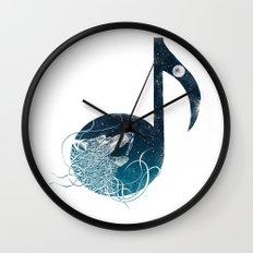 Night Sounds Wall Clock