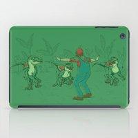yoshi iPad Cases featuring Yoshi Training by Taylor Rose