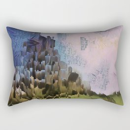 A Second Foray into the Countryside. Rectangular Pillow