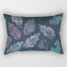 Abstract leaf painting Rectangular Pillow