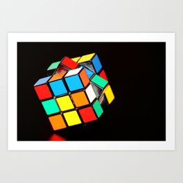 Cubic Cube Art Print