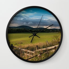 Landscape Photography by Dave Robinson Wall Clock