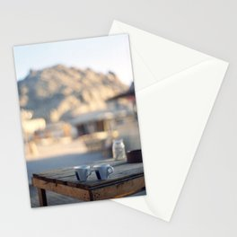 on the edge of the world Stationery Cards