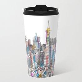 San Francisco Coit view Travel Mug